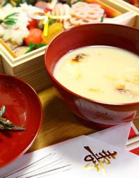 白味噌(西京味噌)のお雑煮