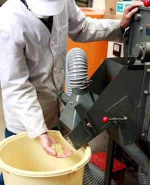 大豆脱皮、白味噌(西京味噌)の作り方手順
