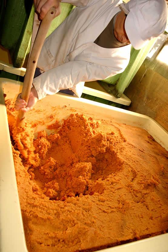 天然醸造味噌の作り方、こだわり