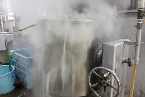 白味噌の大豆を煮る、作り方