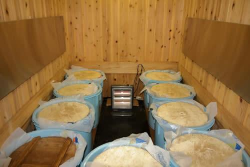 白味噌(西京味噌)の作り方、熟成