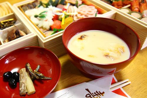 白味噌(西京味噌)のお雑煮、お正月